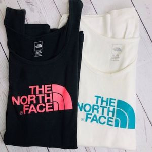 2-The North Face Workout Tank Tops--X-Large